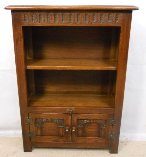 Oak Open Standing Bookcase
